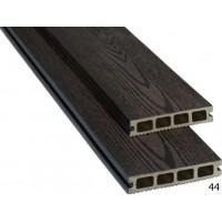Дошка терасна  152х26х3000мм, колір 44 (чорний шоколад), м2