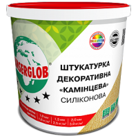 Штукатурка декоративна силіконова ANSERGLOB баранчик 2,0мм  (біла), 25кг
