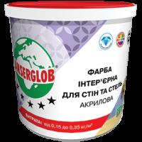 Фарба  акрилова ANSERGLOB для стін та стелі, 14кг