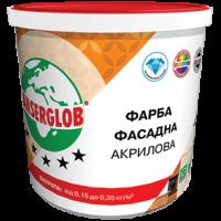 Фарба фасадна акрилова ANSERGLOB,  14кг