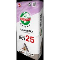 Шпаклівка фінішна біла ANSERGLOB ВСТ 25, 15кг
