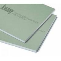 Гіпсокартонна плита вологостійка Knauf   1200*3000*12,5, лист 3,6м2