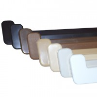 Заглушка Crystalit 600мм (кольори в асортименті), шт