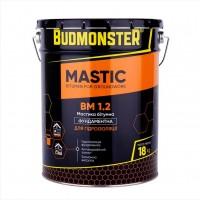 Мастика бітумна для гідроізоляції фундаменту BudMonster, 18 кг