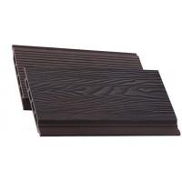Дошка фасадна BRUGGAN ELEGANT 3D PRO WINE BROWN 140*17*2900, м2