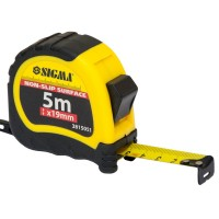 Рулетка Sigma shiftlock 5м*19мм, шт