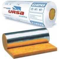 Скловата  URSA 12500*1200*50 15м2 фольгована, упаковка