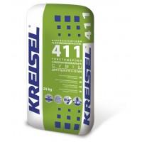 Суміш товстошарова самовирівнююча   KREISEL 411 (5-35мм), 25кг