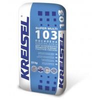 Клей SUPER MULTI 103 для керамччної плитки, 25кг - KREISEL