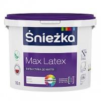 Фарба матова латексна Снежка MAX LATEX , 14кг