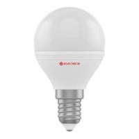 Лампа світлодіодна куля ELECTRUM A-LB-1405  6W  Е14 3000K, шт