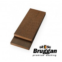 Дошка терасна BRUGGAN MultiColor, 130х19х2200 мм, колір Cedar